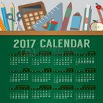 64511705-flat-design-top-view-education-concept-2017-printable-calendar-starts-sunday-illustration